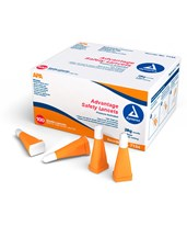 Advantage Pressure Activated Safety Lancets, Sterile DYN7134