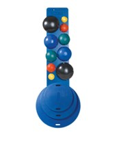 "MVP Balance System - 10-Ball Set with Rack, and 16,20,30"" Diameter Boards FEI10-1904"