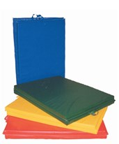 "Center-Fold Exercise Mat with Handle - 2"" PU Foam FEI38-0200-"
