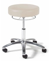 9903 Series Physician Exam Stool with Polished Aluminum Base GFH9903-