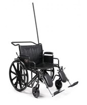 Traveler Hospital Transport Chair GRA3J010330-