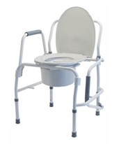 Silver Collection 3-in-1 Steel Drop Arm Commode GRA6433A