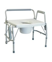 Imperial Collection 3-in-1 Steel Drop Arm Commode GRA6438A