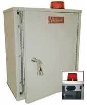 Double Door Narcotics Cabinet with Audio and Visual Alarm HAR27AVD20-