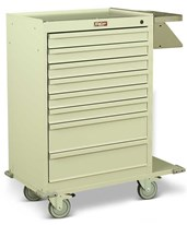 Eight Drawer Painted Cast Cart HAR6030-