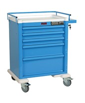 Aluminum Universal Line Electronic Pushbutton Lock Anesthesia Cart HARAL808E5-