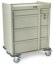 Standard Line Dual Column 480 Punch Card Medication Cart HARSL480PC-