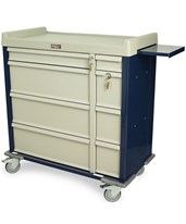 Standard Line Dual Column 600 Punch Card Medication Cart HARSL600PC-
