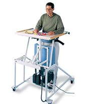 Hi-Lo Stand-In Table with Electric Patient Lift HAU6175-