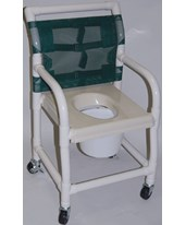 PVC Shower Commode Chair HMPSC6013S-KIT