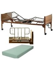 Manual Home Care Bed Package INVBED12-1633-