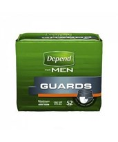 Depend Guards for Men Incontinence Pads KIMK-C13792