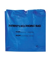 Drawstring Patient Belonging Bags [250/Case] MEDNON026315BL