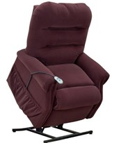 Wide Petite Luxury Three-Way Reclining Lift Chair MEL3153W-