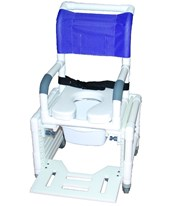 Pediatric Adjustable Commode Shower Chair MJM114-L-3TL-ADJ-