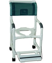 Shower Chair with Folding Footrest MJM118-3-FF
