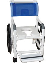 Aquatic Rehab Shower Transport Chair MJM131-18-24W-
