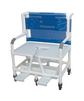 "30"" Bariatric Commode Shower Chair MJM131-5"