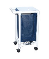 Single Hamper with Mesh Bag and Foot Pedal MJM214-S-FP-