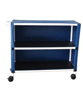 Two Shelf Linen Carts MJM345-2C-3-