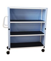 Three Shelf Linen Carts MJM345-3C-3-