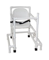 Non-Magnetic Walker  with Full Support Seat and Outriggers MJM418-OR-3-FS-MRI