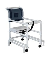 Height Adjustable Walker with Anti-tip Outriggers MJM418-OR-3TW-