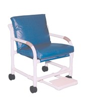 Deluxe MRI Compatible Transfer Chair with Footrest MJM505-5-MRI-