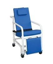 Reclining Geri Chair with Elevated Leg and Footrest MJM518-SL-