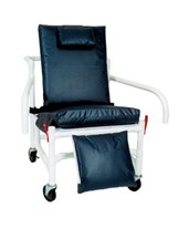 Bariatric Reclining Geri Chair with Elevated Leg Rest and Drop Down Arms MJM530-S-DDA