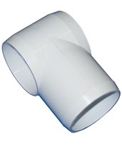 Replacement PVC Fitting for shower chair MJMR-T-L-Fitting