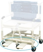 Optional Sliding Footrest for 122-3TL-DDA MJMSF-122-3