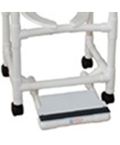 Sliding Footrest for MJM Shower Chairs MJMSF-18-