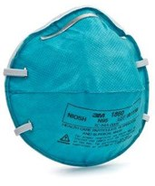Health Care Particulate Respirator & Surgical Mask MMM1860S-