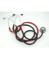 Classic II S.E Teaching Stethoscope, 40'' Black and Burgundy MMM2138