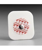 Red Dot Diaphoretic Foam Electrodes with Abrader, Case MMM22705-