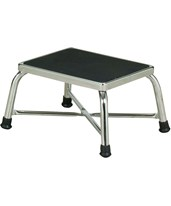 Chrome Bariatric Step Stool NDCP276142-