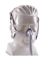 Wisp Nasal CPAP Mask with 3 Cushions & Headgear, Reversible Fabric Frame PHI1094051