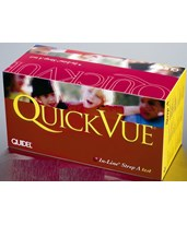 QuickVue In-Line Strep A Test Kit - 25/kit QUI0343