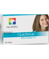 QuickVue One-Step hCG Combo - 50/kit QUI20110