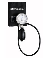Precisa® N Aneroid Sphygmomanometer with Single Tube Adult Size Velcro Cuff RIE1360-107