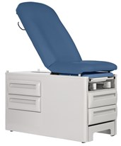 Signature Series - ProFrontStep Exam Table with Optional Armboards and Accessory Rails UMF5240-