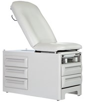 Signature Series Reversible Drawers Manual Exam Table w/ 5 Storage Drawers UMF5250