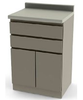 "24"" Modular Base Cabinet with Doors UMF6014"