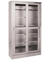 "84"" Stainless Steel Large Storage Cabinet UMFSS7816"