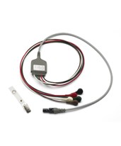 Micropaq ECG 5 Leads Snap Cable, AAMI, 4OX/8O2, 4' - Vital Signs Monitor Accessory WEL008-0522-00