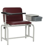 Extra Large Padded Blood Drawing Chair with Storage Drawer WIN2574