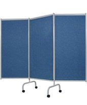 Designer 3 Panel Steel Frame Privacy Screen WIN3170