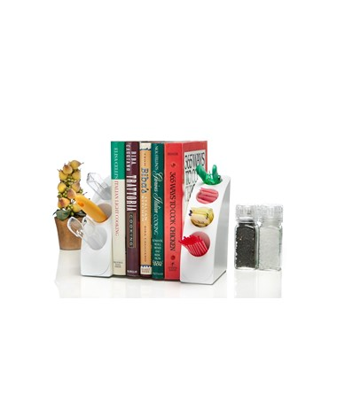 Smart Quarter Bookends 651-02-WHI