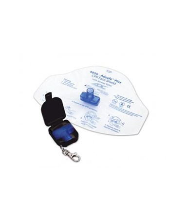 Adsafe™ Plus Face Shield with Keychain ADC4056BK-